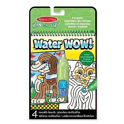 Melissa & Doug- Water Wow! - Pet Mazes, (19484): Unknown: Juguetes y juegos