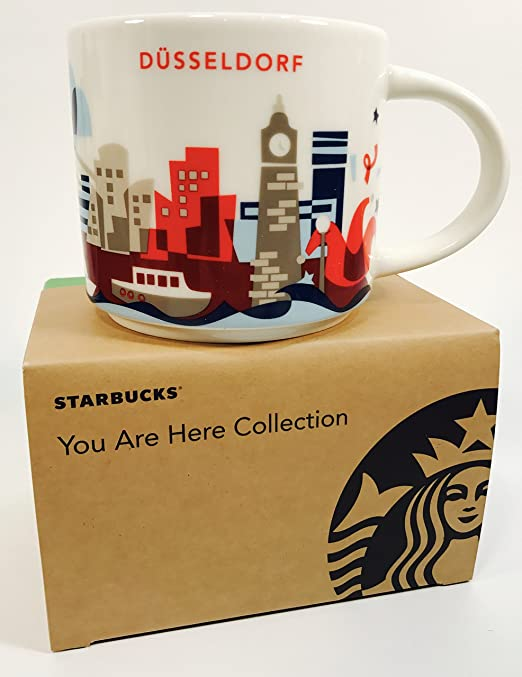 Starbucks City Mug YOU ARE HERE 14 Fl oz