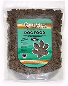 Real Meat 10lb Air-Dried Dog Food, Turkey