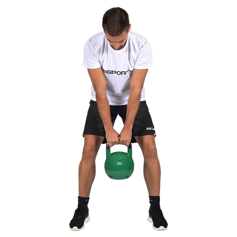 Pesa rusa para competición de 4 a 32 kg. Calidad profesional. Mancuerna de pelota de competición., 24 kg - Grau: Amazon.es: Deportes y aire libre
