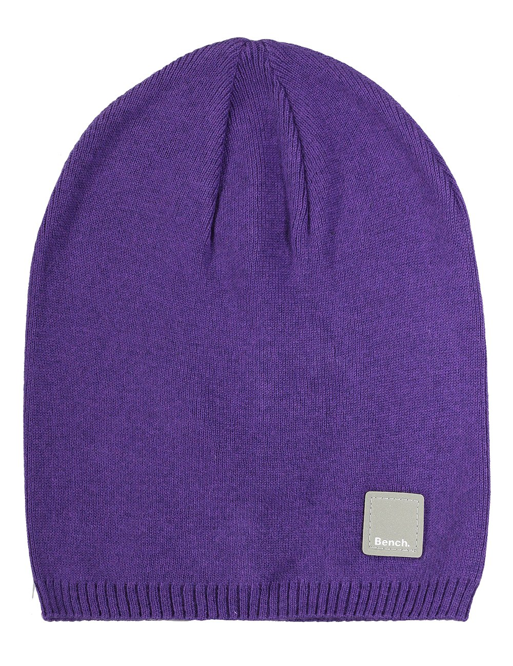 Bench Mallik-B Men's Knitted Hat One Size Pale Grey Marl, BMWA0553B BLWA0382B