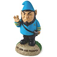 BigMouth Inc Officially Licensed Star Trek Spock Gnome Statue, Funny Lawn Gnome Statue, Garden