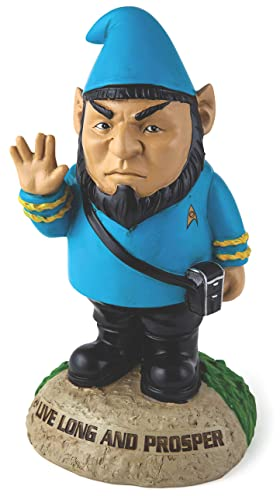 BigMouth Inc Officially Licensed Star Trek Spock Gnome Statue, 9
