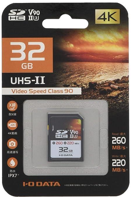 I-O Data SD2U3-32G Memoria Flash 32 GB SDXC Clase 10 UHS-II ...