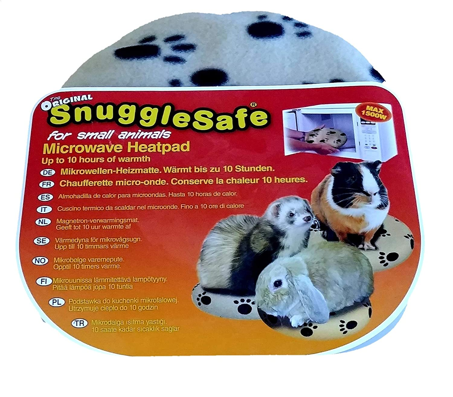 Snuggle Safe Microondas inalámbrica Heatpad: Amazon.es: Productos ...