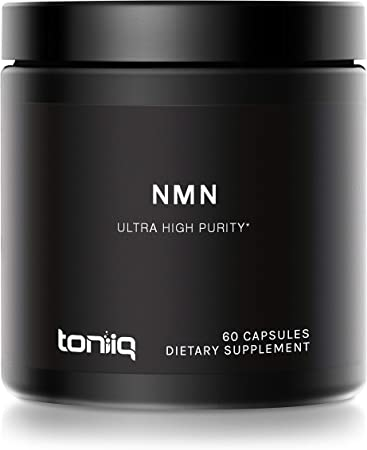Ultra High Purity Stabilized NMN Capsules - 99%+ Highly Purified and Highly Bioavailable - 300mg - for NAD+ - 60 Capsules NMN Nicotinamide Mononucleotide Booster Supplement