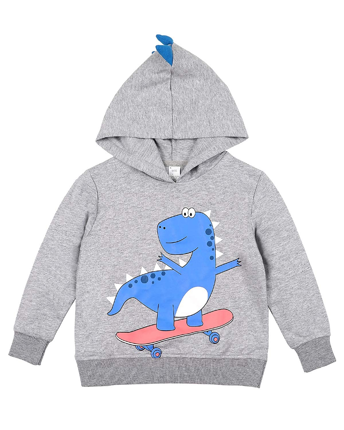 vivicoco Kid's Hoodies Sweatshirts Hooded Sweatshirt 100% Cotton