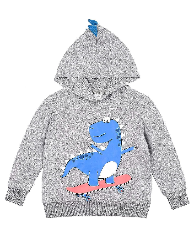 vivicoco Kid's Hoodies Sweatshirts Hooded Sweatshirt 100% Cotton