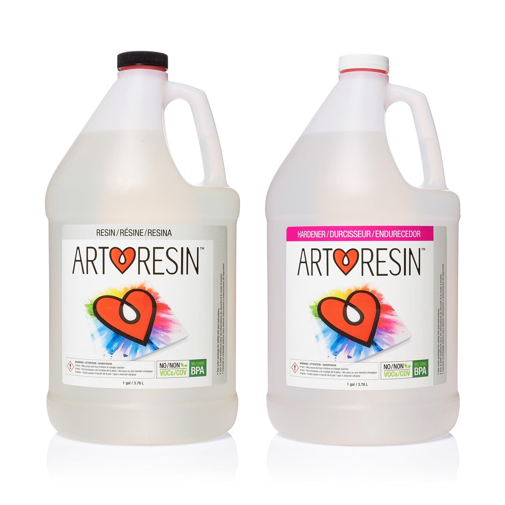 Clear Non-toxic ArtResin Epoxy Resin - 2 gal (7.57 L)