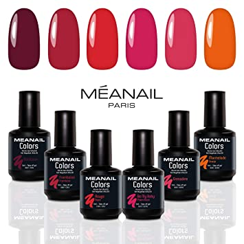 Compatibles Marmelade Permanent Ongles Semi My Rouge Vernis À ColorsBordeauxFramboiseRougeBe Lampe Coffret • BabyGrenadineamp; 6 k0wnP8O