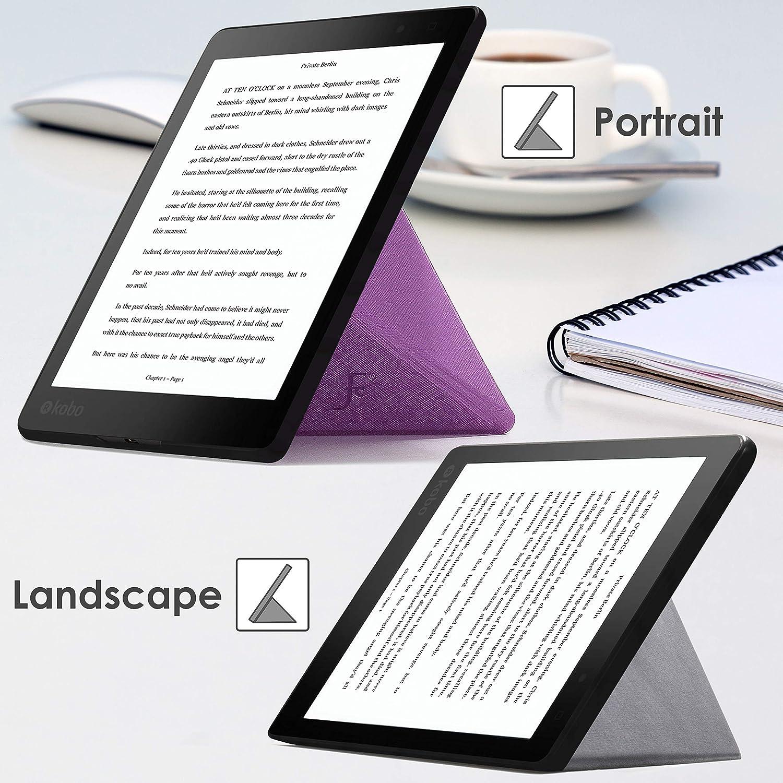 Forefront Cases® Kobo Aura One 7.8 Origami Funda Carcasa Stand ...