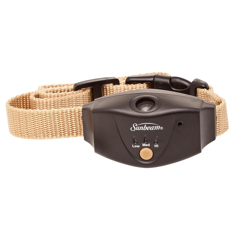 Sunbeam Advanced Ultrasonic Static Bark Control Dog Collar