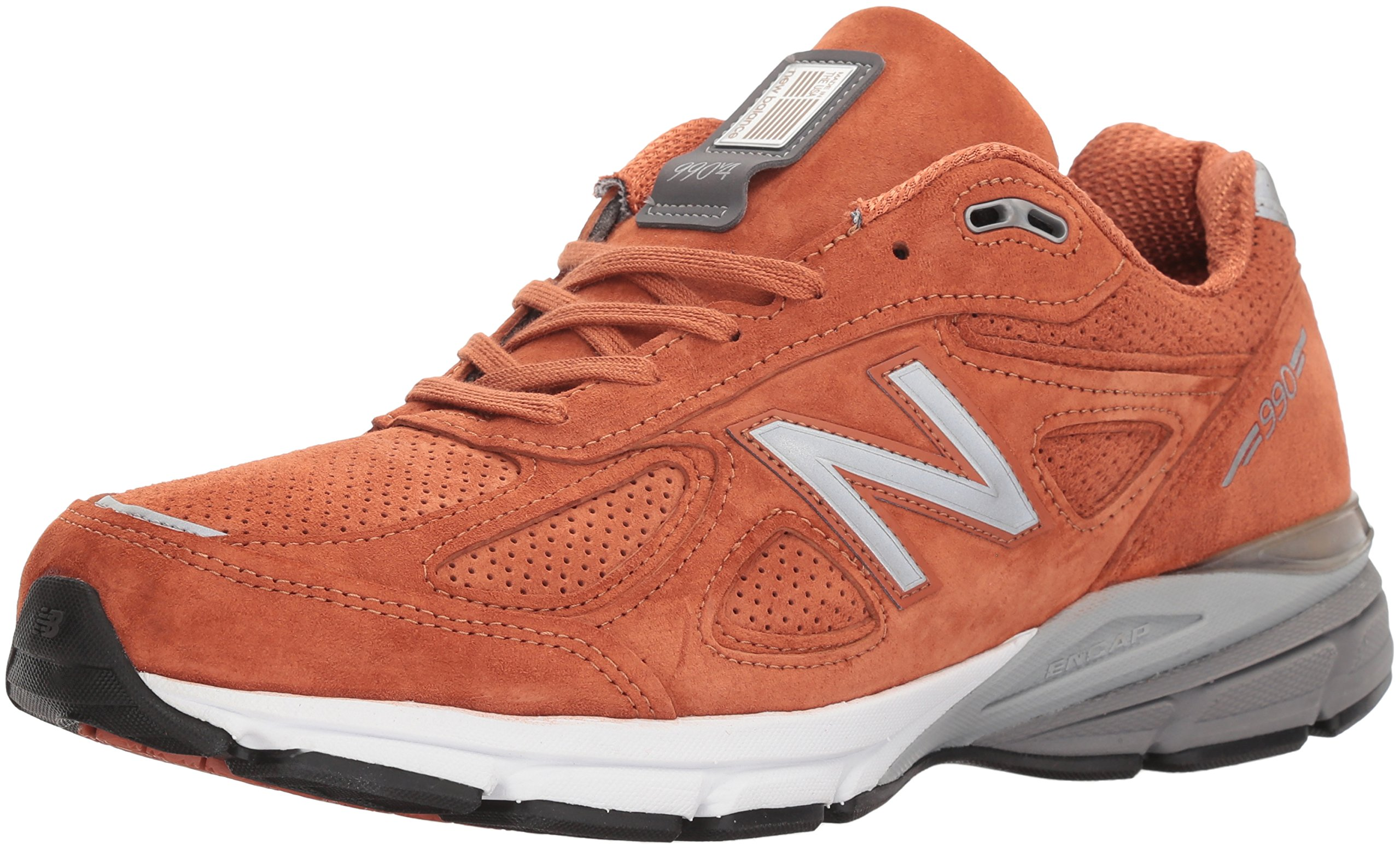 New Balance PERFRUN 990v4 Orange by New Balance