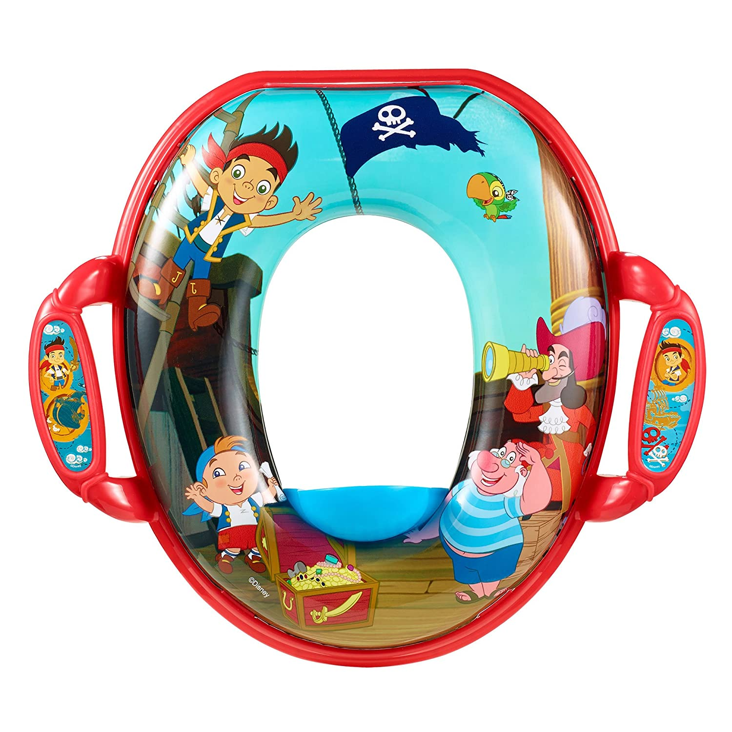 The First Years Disney Junior Jake & The Neverland Pirates Soft Potty Seat Y10246CA1
