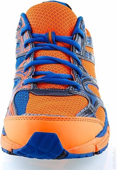 Crivit Sports - Zapatillas de Running de Material Sintético para Hombre, Color Naranja, Talla 43: Amazon.es: Zapatos y complementos