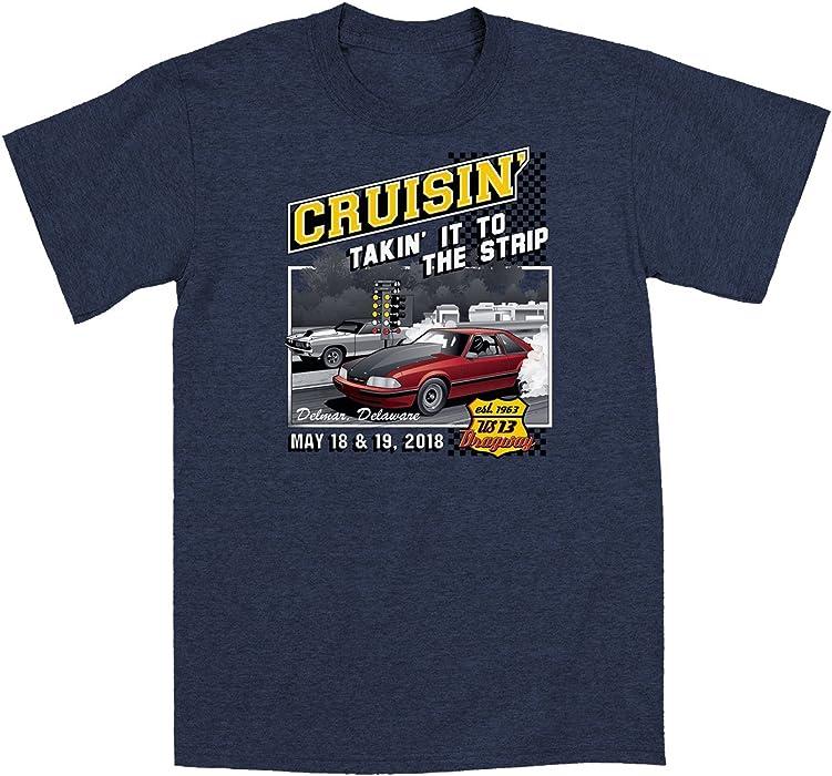 Amazoncom Sale Cruisin Official Classic Car Show Event T - Car show t shirts for sale