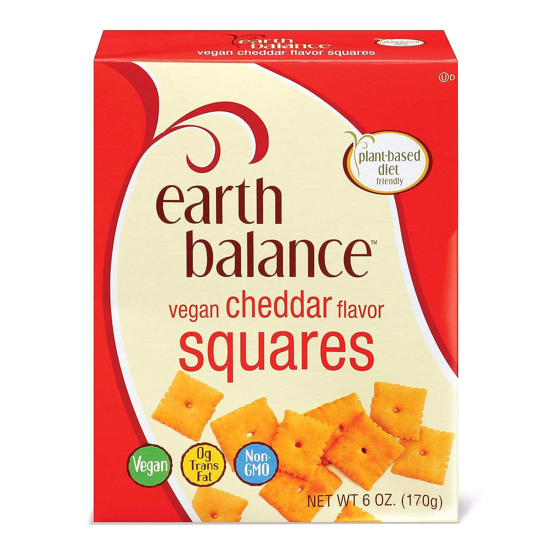 Earth Balance Vegan Cheddar Flavor Squares, 6 oz.