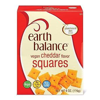 Earth Balance Vegan Cheddar Flavor Squares