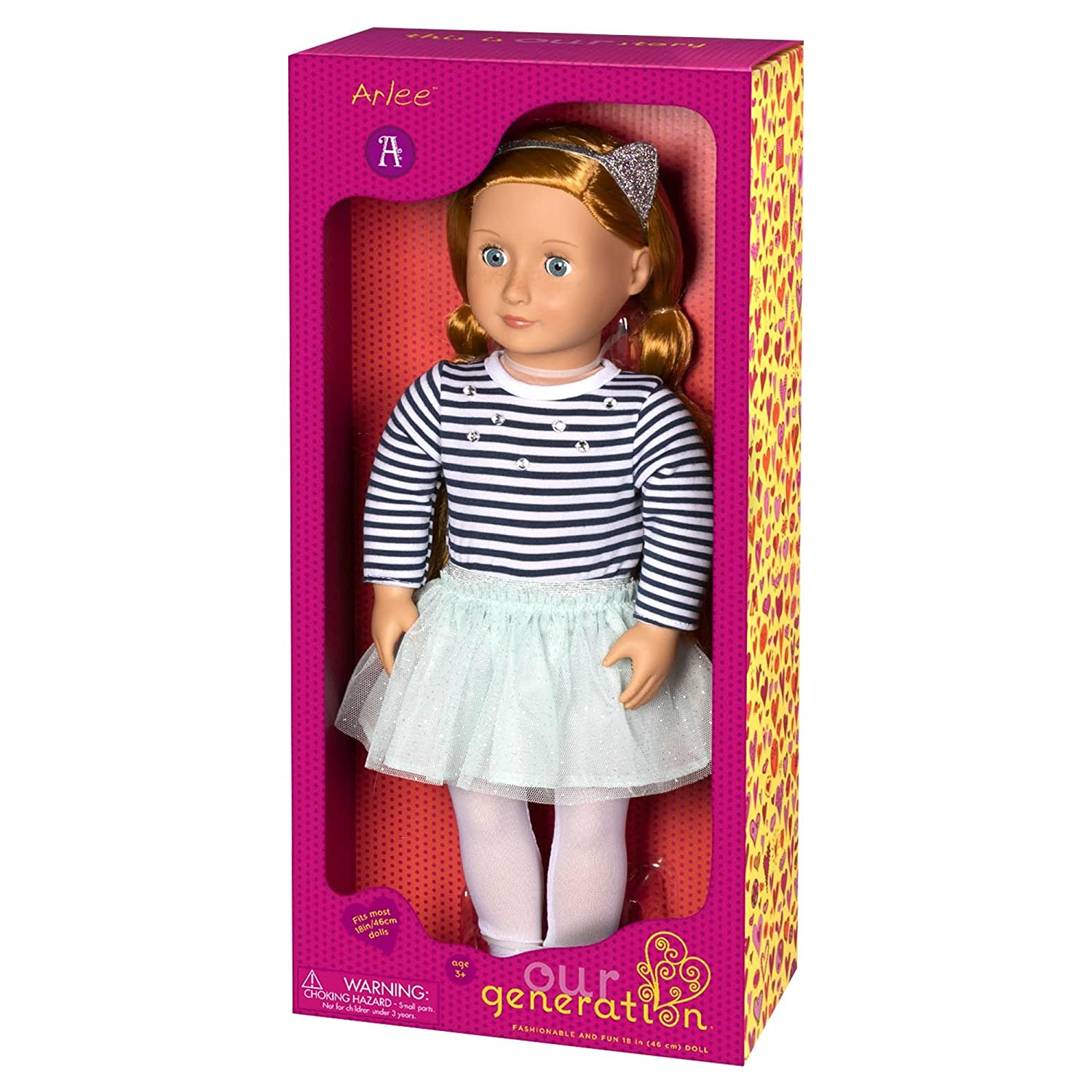 Amazoncom Our Generation Dolls Arlee 18 Doll Toys Games