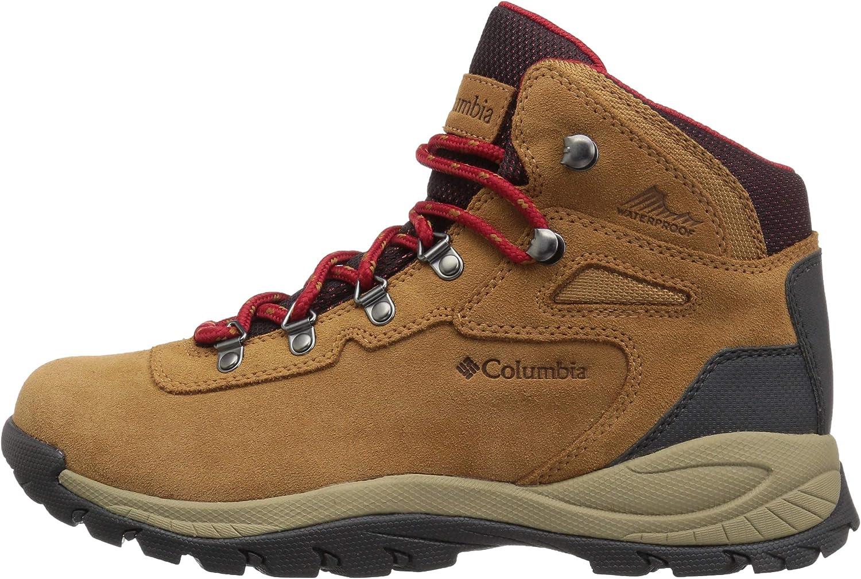 Columbia Womens Newton Ridge Plus Waterproof Amped Hiking Boot