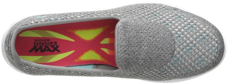 Skechers Performance Women's Go Walk Shoe 4 Kindle Slip-On Walking Shoe Walk B01B44YTNO 13 B(M) US Gray 538a5e