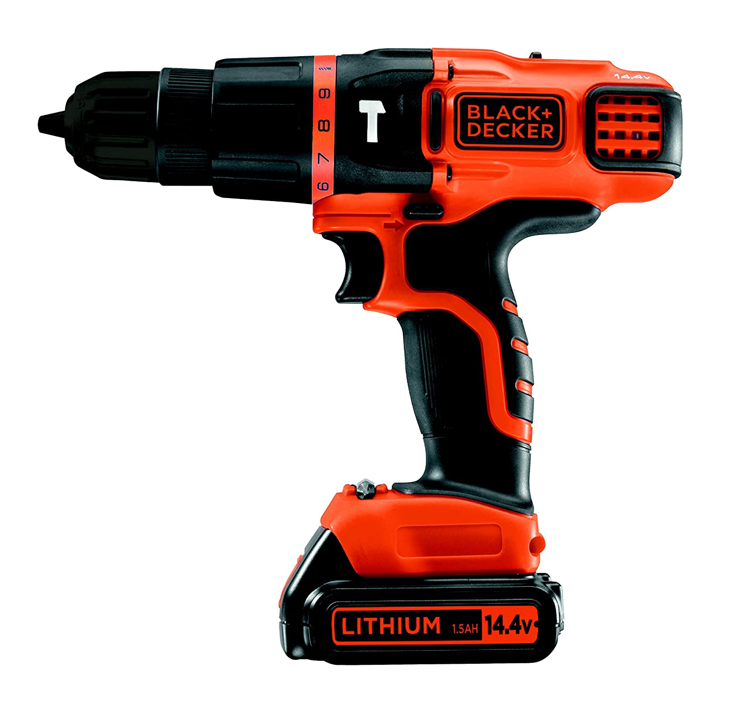 Black and Decker EGBLKB Taladro percutor batería  Ah y maletín
