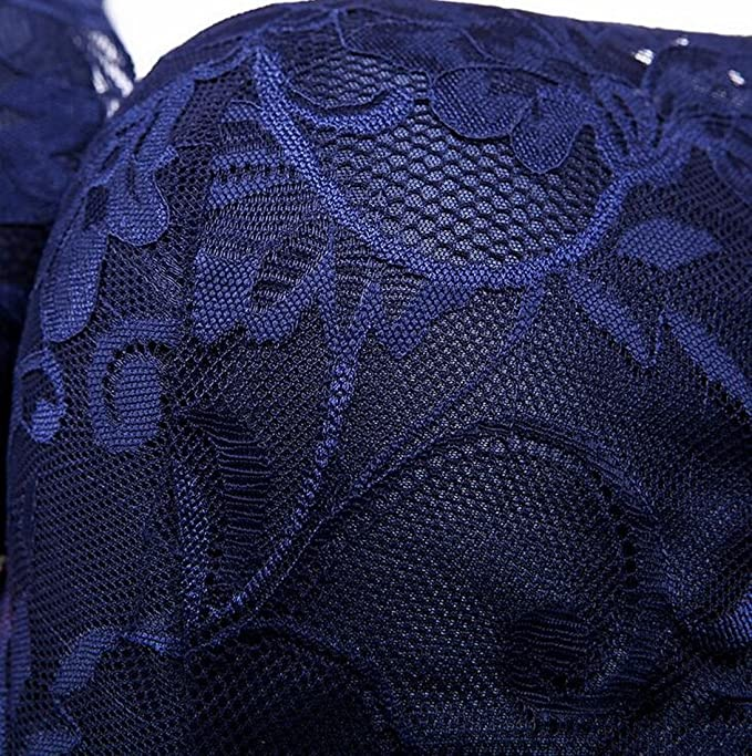 4e30ac7bc144 GRMO Women Underwear Push up Embrace Lace Plus-Size Full-Figure Underwire  Bra at Amazon Women's Clothing store: