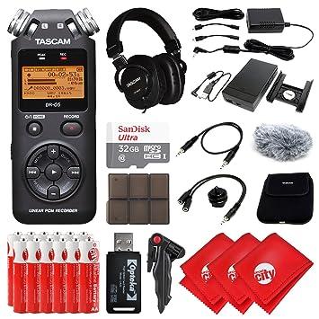 TASCAM - Grabadora de audio digital portátil de mano, para ...