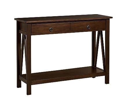 Charmant Linon Home Decor Titian Antique Console Table