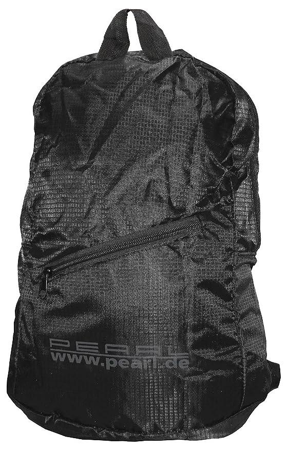 PEARL Faltrucksack: Faltbarer Rucksack, 15 l, 160 g, wasserabweisend ...