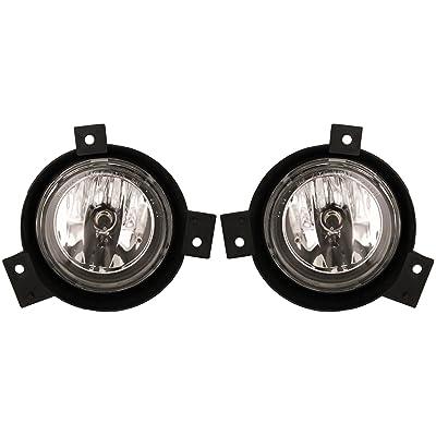 Ford Ranger 01-03 Driving Fog Lights - Left & Right Lamps