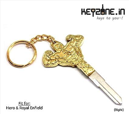 14a462a805e525 Keyzone Designer Body Builder Shaped Brass Key Blank for Royal ...