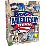 American Trivia Game (Amazon Exclusive) – 5 Categories to Choose from and 1,000 Questions – for Ages 14 and up by Outset Medi