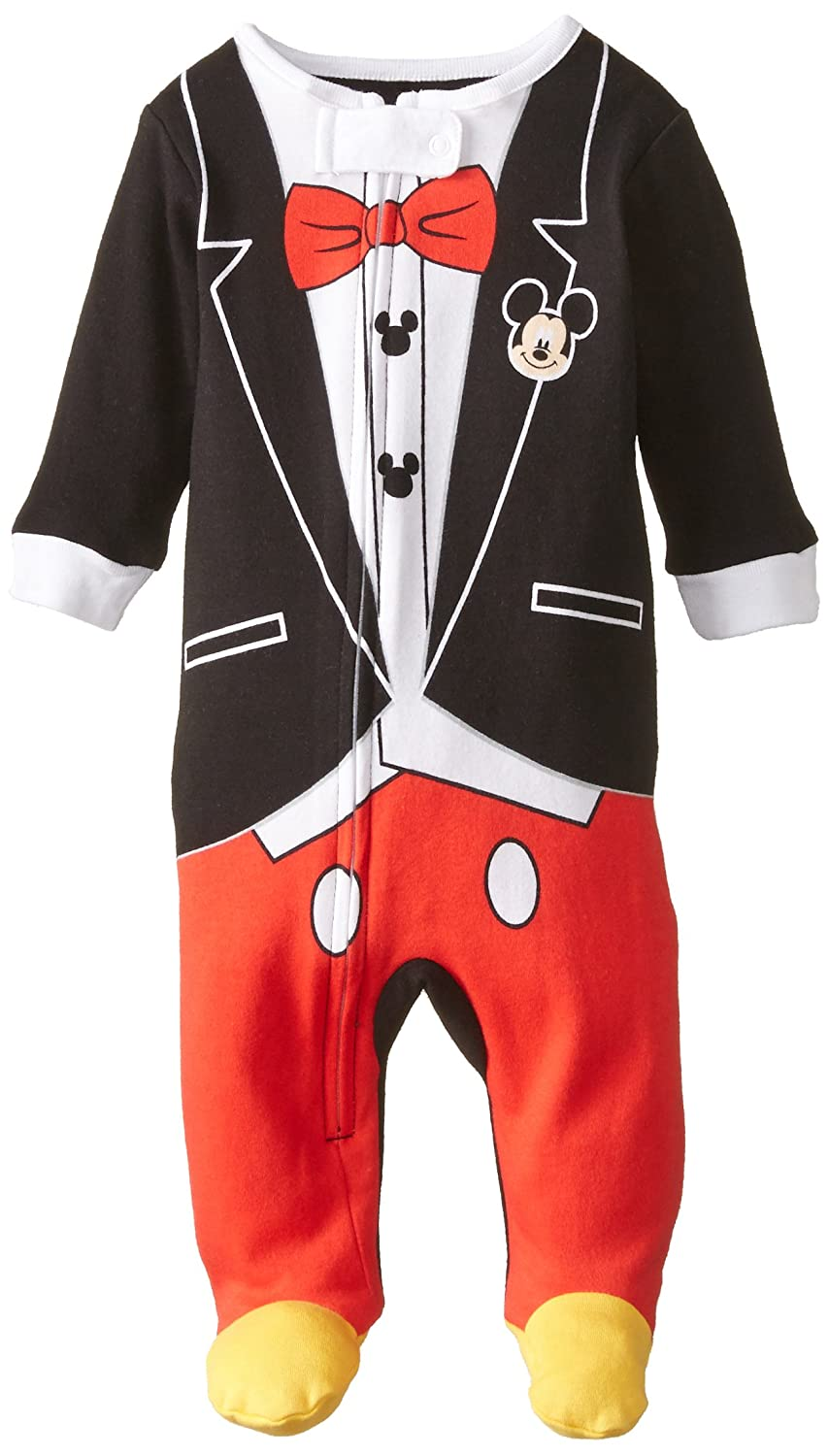 Disney - Camiseta de Mickey Mouse una Pieza Manta Sleeper - Negro -: Amazon.es: Ropa y accesorios