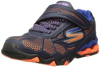 57a8d4130002e Skechers Kids Boys' Hydro-Static Sneaker, orange/navy, 1 Medium US