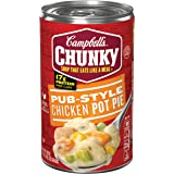 Campbell's Chunky Soup, Pub-Style Chicken Pot Pie, 18.8 Ounce (Pack of 12) (Packaging May Vary)