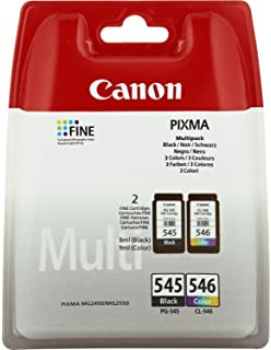 CANON Tinta Original PG-545 Y CL-546 Color Y Black para ...