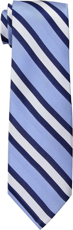 Tommy Hilfiger Repp - Corbata de rayas para hombre - Azul - talla ...