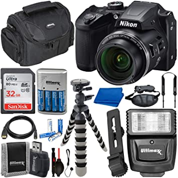 Amazon.com: Cámara digital Nikon COOLPIX B500 con accesorio ...