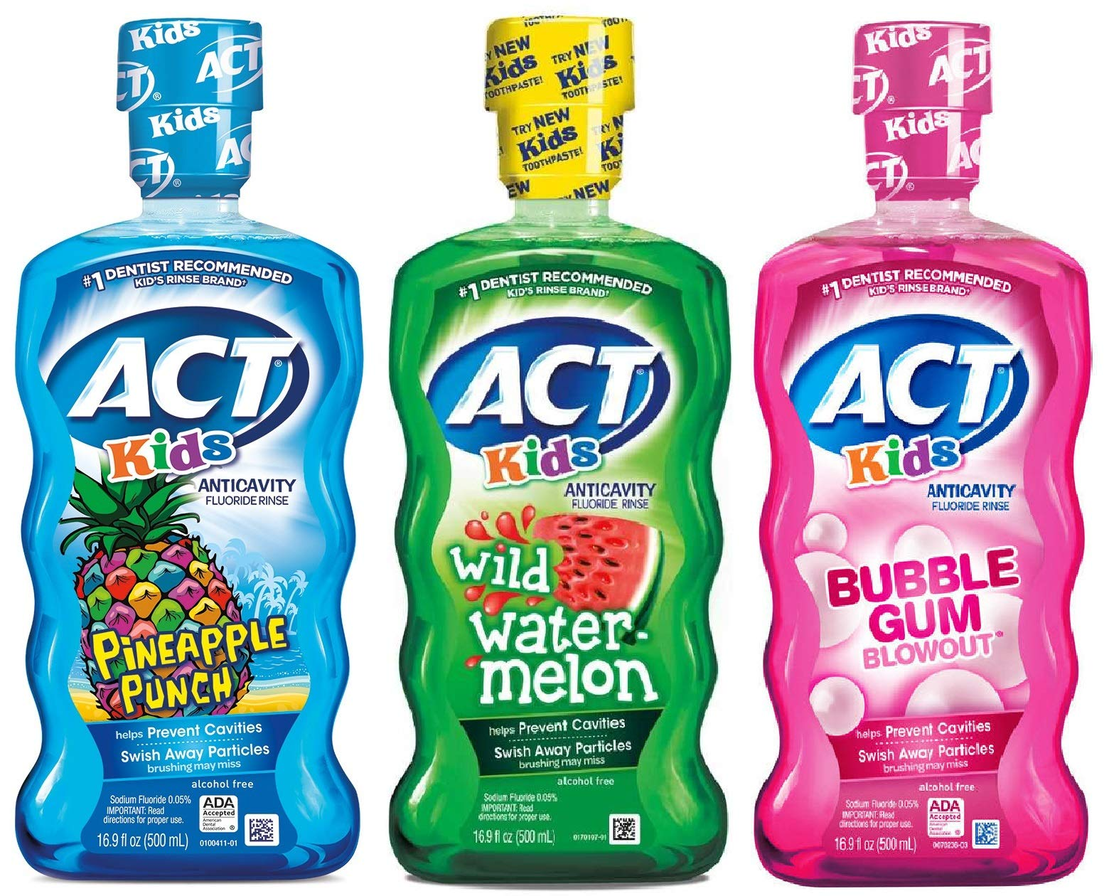 ACT Kids Mouthwash Variety Pack (Original Version) by ACT