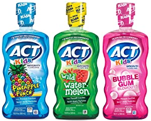 ACT Kids Mouthwash Variety Pack (Original Version)