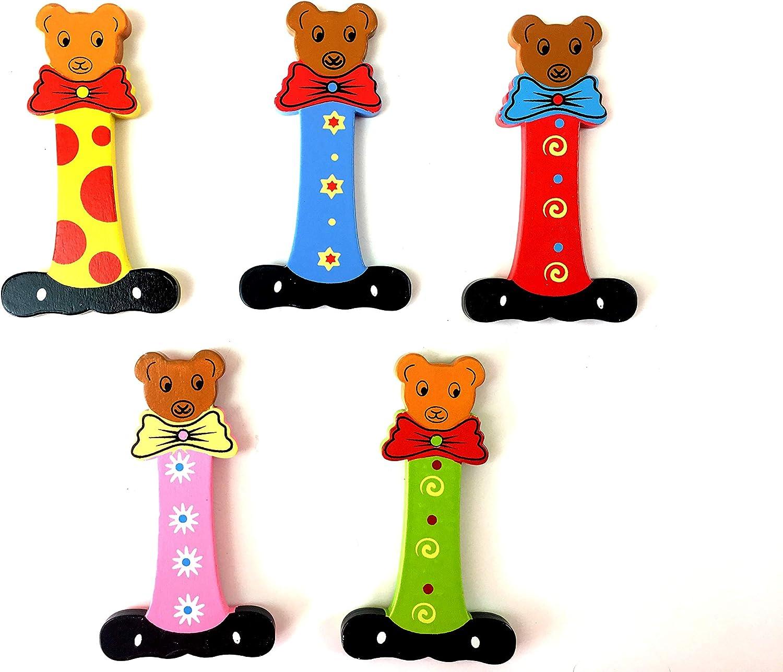 Holzbuchstaben Bären ABC bunte Buchstaben aus Holz