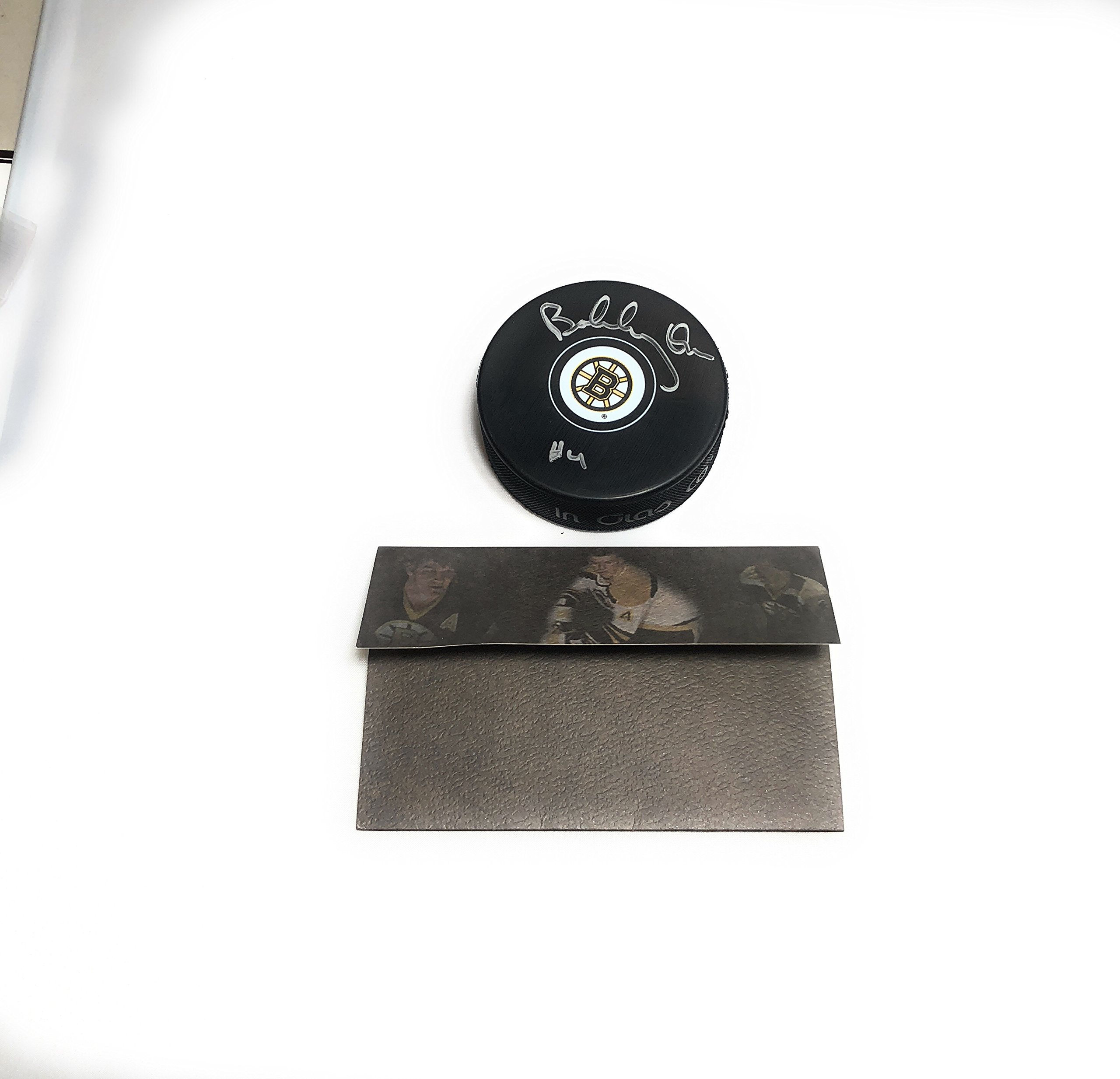 Bobby Orr Boston Bruins Signed Autograph NHL Puck Great North Certified