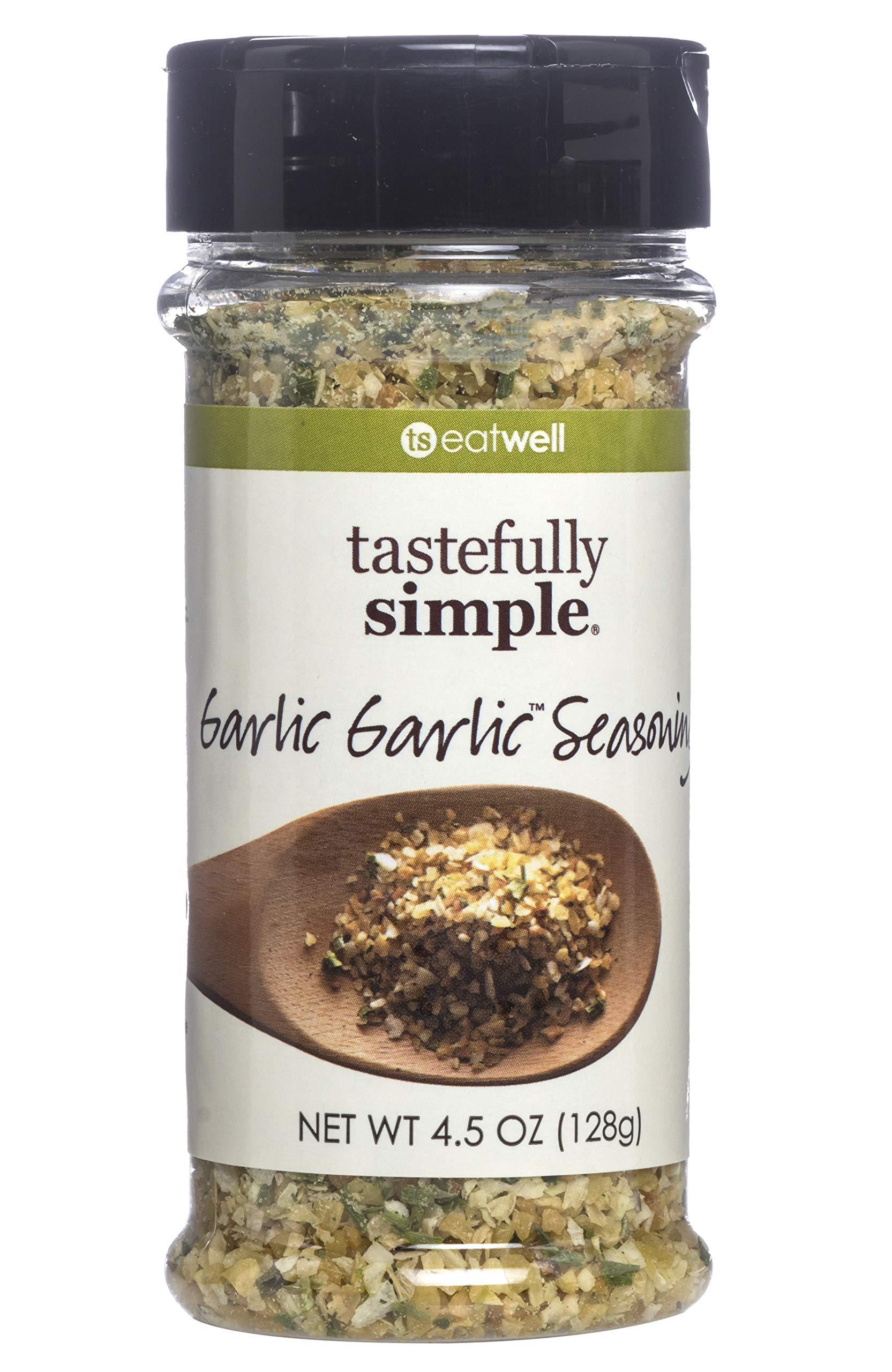 Tastefully Simple Garlic Garlic Seasoning Blend, No MSG, All Natural, No Preservatives, and Kosher