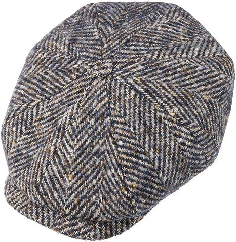 Made in The EU Wintercap Ballonm/ütze Schirmm/ütze mit Schirm 53 cm- 64 cm Stetson Hatteras Schildm/ütze Damen//Herren Futter Herbst-Winter