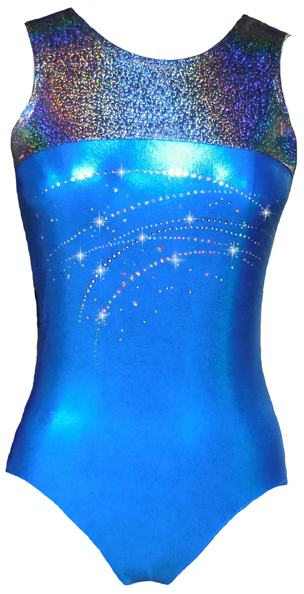 Look-It Activewear Sparkle Stardust Leotard for Gymnastics and Dance girls and women (Child Small (size 3-4)) by Look-It Activewear