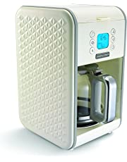 Morphy Richards Vector Pour Over Coffee Machine Vector 163004 Cream Pour-Over Coffee Machine 12 Cup Cream Coffee Machine