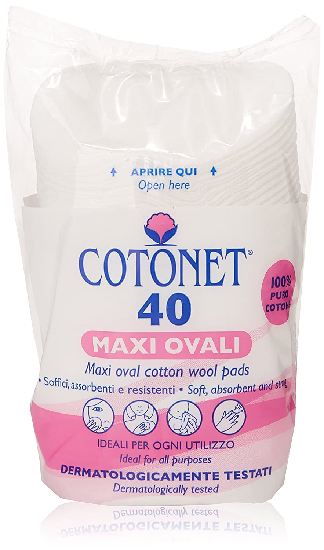 Cotonet - Dischetti Maxi Ovali - 40 Pezzi Sisma