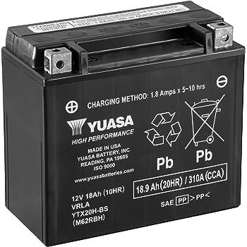yuasa yb16 b yumicron battery for 1971 2000 harley davidson xl fx models automotive. Black Bedroom Furniture Sets. Home Design Ideas