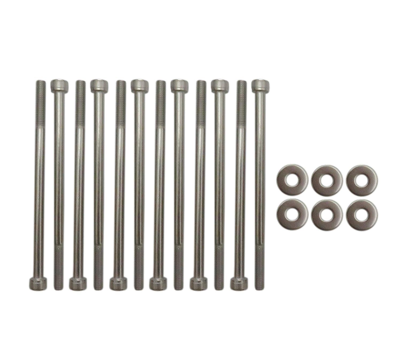 INTAKE MANIFOLD BOLTS STAINLESS STEEL KIT For LSX LS2 LS3 LS6 CAMARO CORVETTE GM